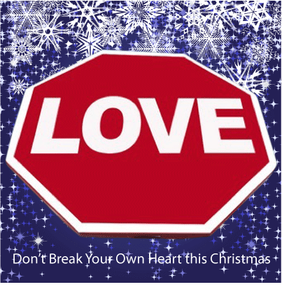 Stop Sign With The Word Love